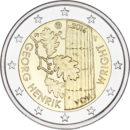 Vuoden 2016 toinen Suomen kahden euron erikoisraha on omistettu Georg Henrik von Wrightille, joka on yksi kaikkien aikojen suurimpia suomalaisia filosofeja.
