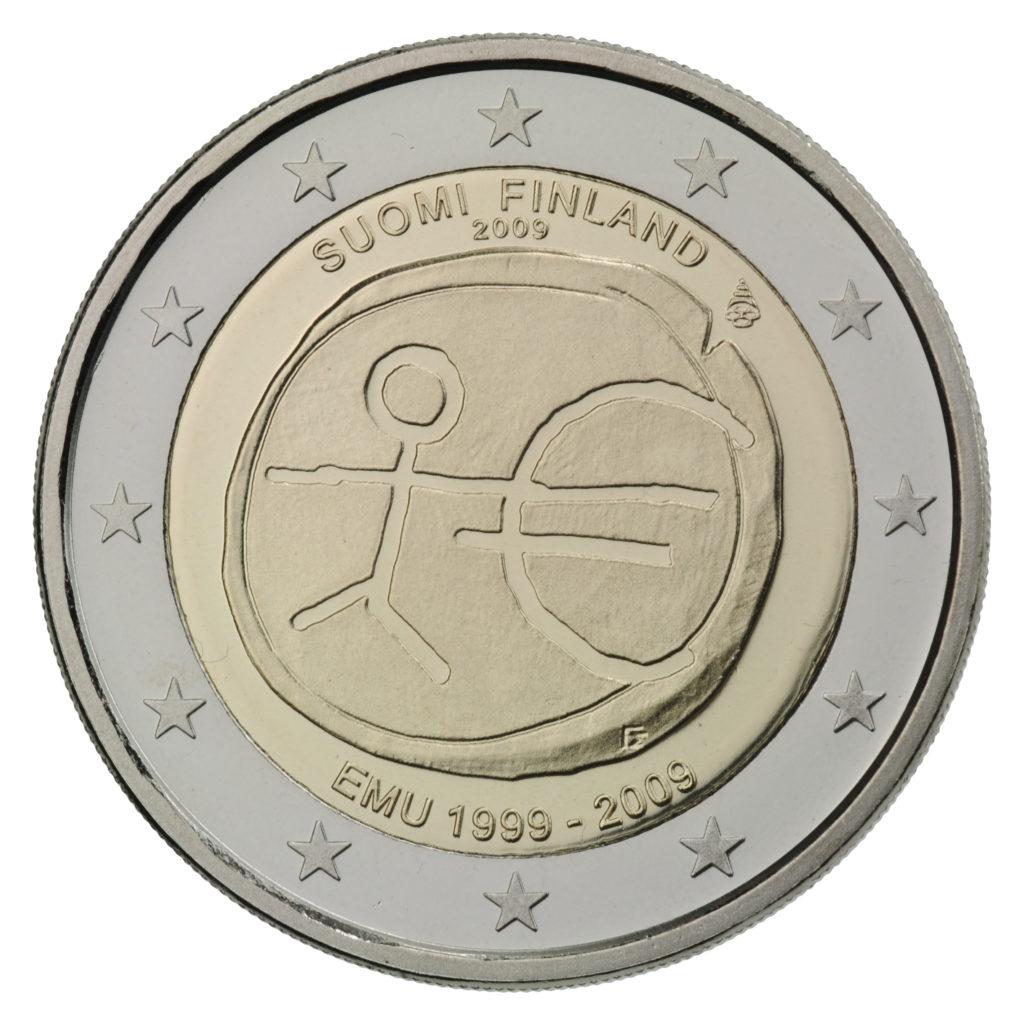 2 Euron Kolikot 2021 Suomi